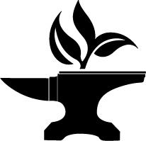 Логотип ассоциации Созидателей, Гильдии кузнецов и художников по металлу города Калининграда